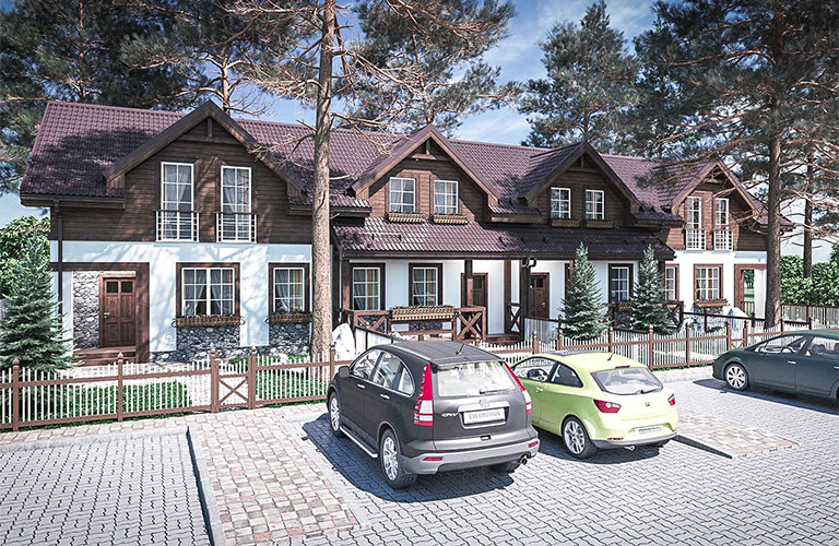 TownHouses Desna Residence